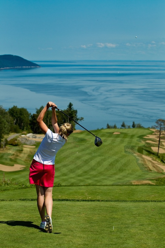 Golf, La Malbaie copy