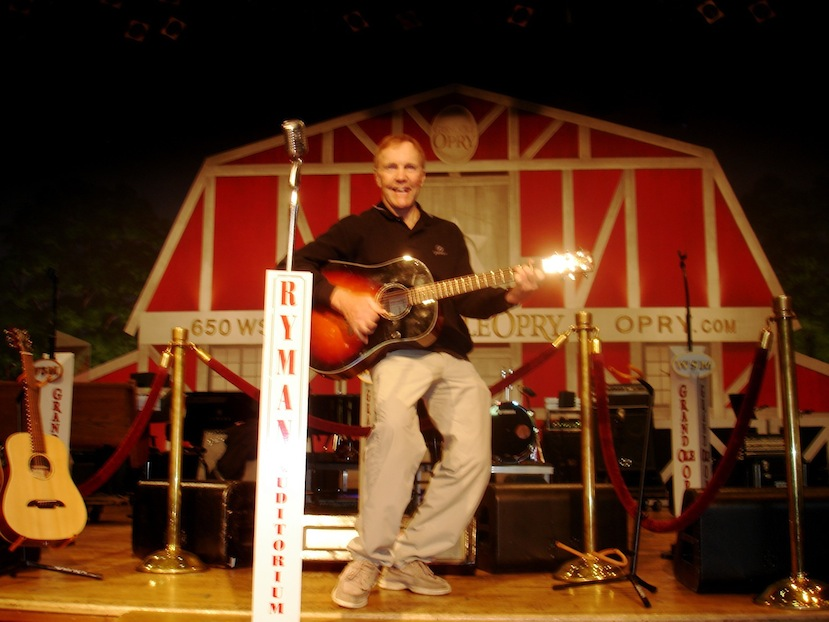 Larry at the Opry